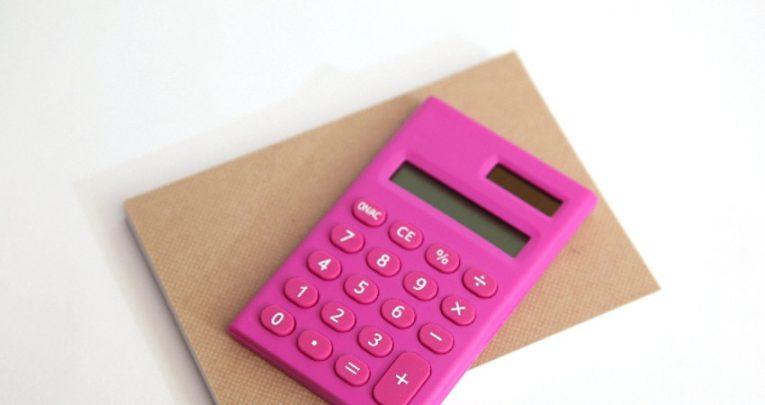 pink電卓